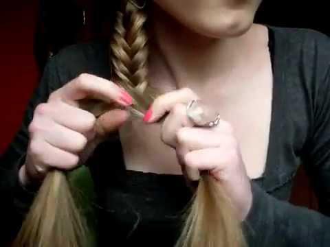 بالفيديو: طريقة عمل ضفيرة ذيل السمكة