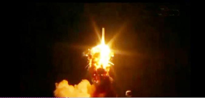 انفجار صاروخ أميركي بعد ثوان من إطلاقه للفضاء