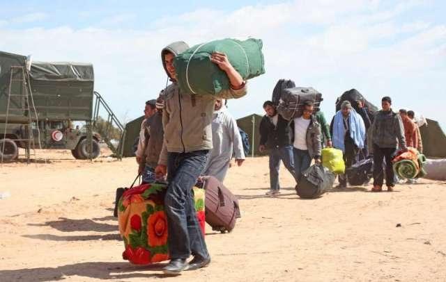الاقتتال في ليبيا تسبب في نزوح 287 ألف شخص