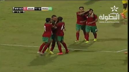 أهداف المغرب في مرمى موريتانيا