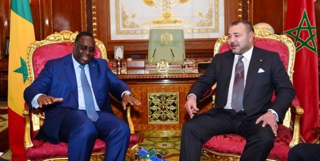الرئيس ماكي سال يدعو العاهل المغربي إلى زيارة السنيغال