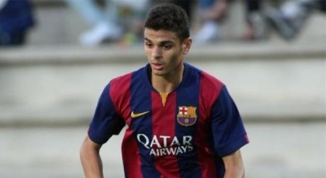 موحا مهاجم  برشلونة يختار اللعب للأولمبي المغربي