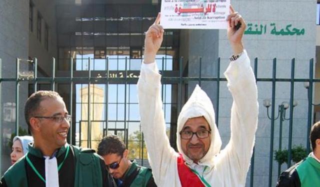 وزارة العدل والحريات المغربية: محمد عنبر غير ذي صفة قضائية