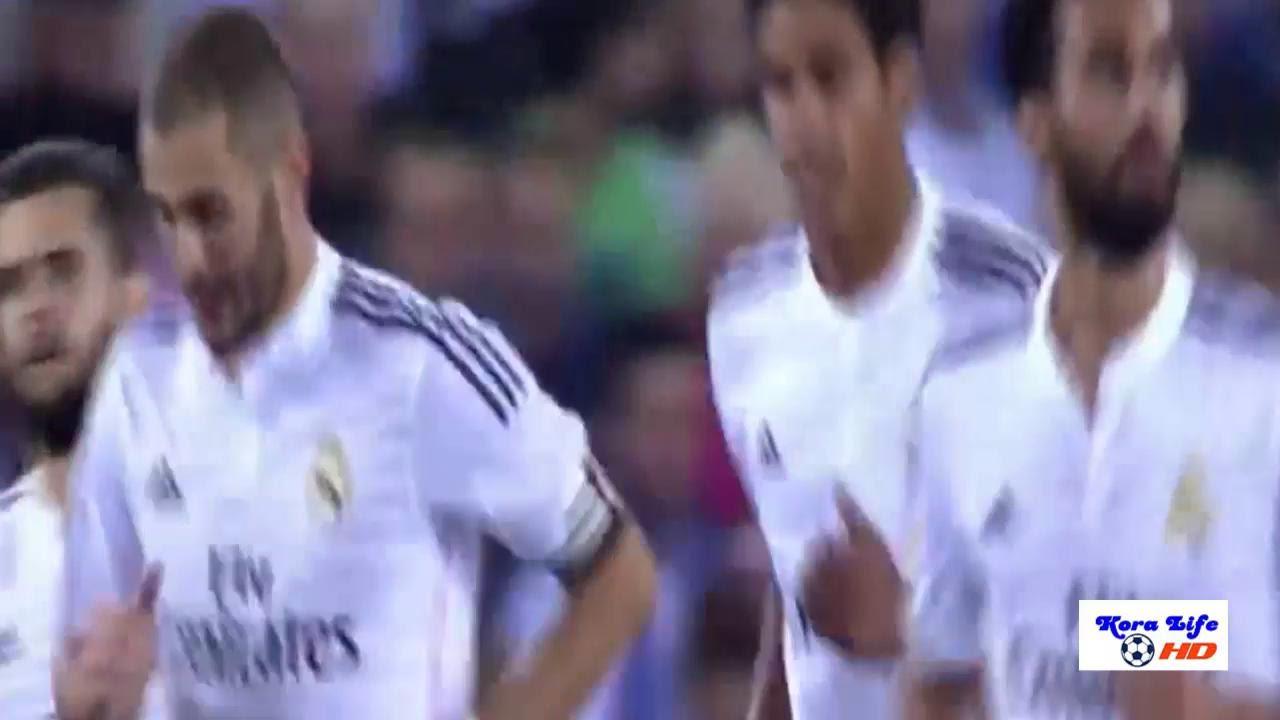ريال مدريد وكورنيا 4-1