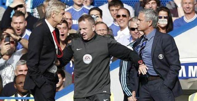صراع بين مورينيو وفينغر بسبب مباراة لندن