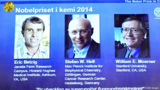 فوز أمريكيين وألماني بجائزة نوبل للكيمياء