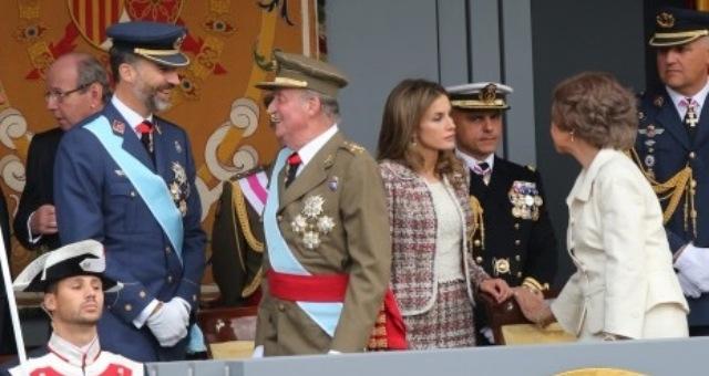 مشاركة المغرب في  أول استعراض يرأسه العاهل الاسباني