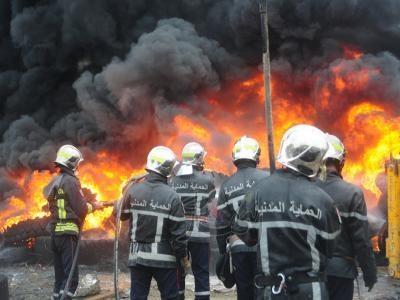 تعرض أحد المكاتب الإدارية لميناء وهران إلى حريق