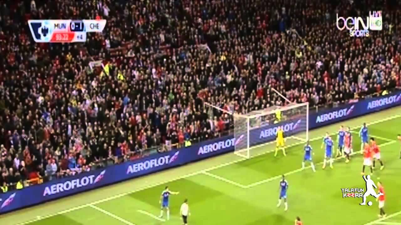 مانشستر يونايتد وتشلسي 1-1
