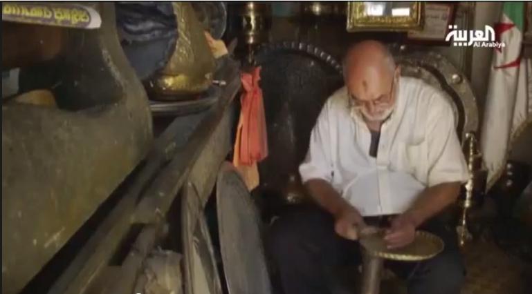 الحرف التقليدية بالقصبة بالجزائر