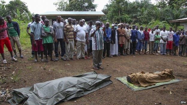 فيروس إيبولا يجتاح كل محافظات ليبيريا
