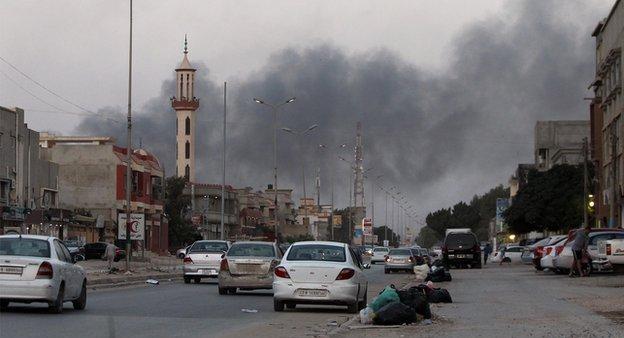 استمرار المعارك ببنغازي و