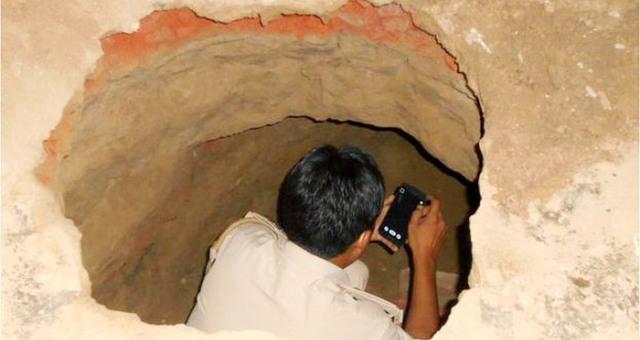 نفق بطول 40 متراً لسرقة مصرف في شمال الهند