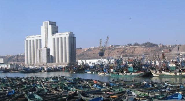سفينة نيجيرية في عرض مياه آسفي تخلق استنفارا بسبب