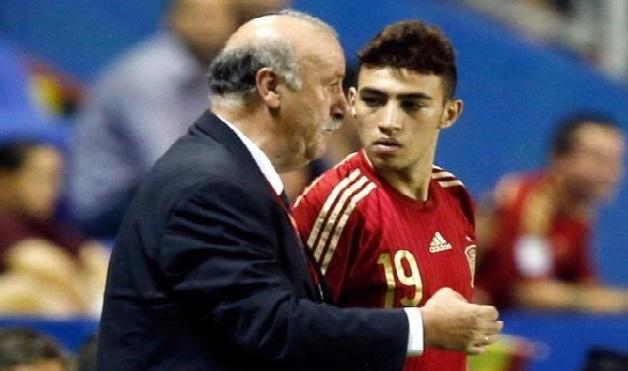 ديل بوسكي يقصي الحدادي من قائمة المنتخب الاسباني