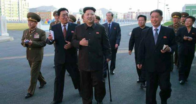 ظهور كيم جونغ أون ينهي الشائعات