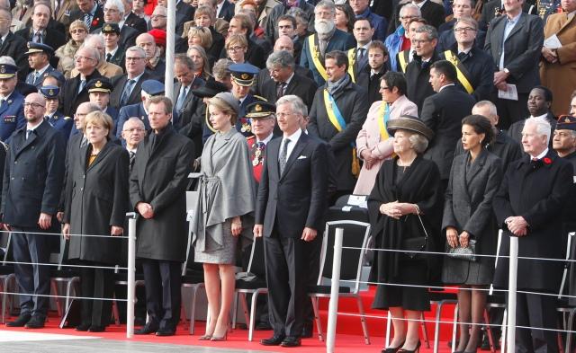 الأميرة المغربية للا مريم تشارك في مراسم ذكرى الحرب العالمية الأولى