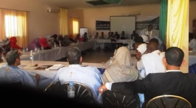 لقاء دراسي حول الارهاب وخطره على المجتمع المدني الموريتاني