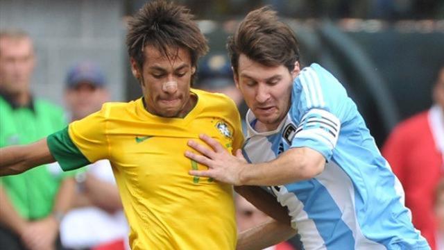 البرازيل تحقق فوزا على الأرجنتين في مباراة ودية