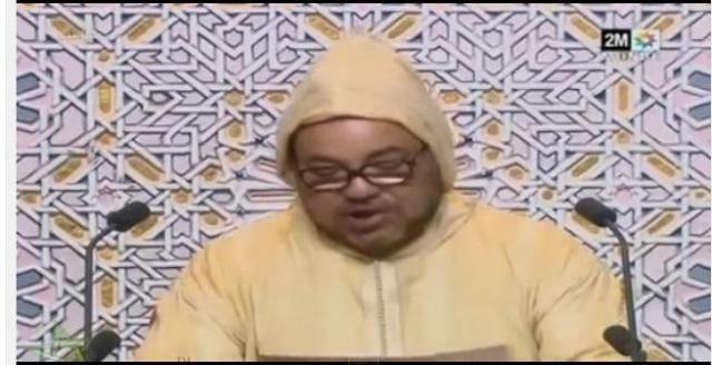 الخطاب الملكي في افتتاح البرلمان المغربي