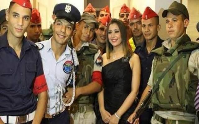 المغربيّة جنات تتألق في حفل عيد