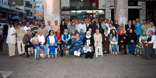 القصيدة الزجلية تتألق في رحاب غاليري الأدب بمدينة الدار البيضاء