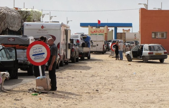 اغلاق الحدود المغربية أمام شاحنات البضائع الموريتانية