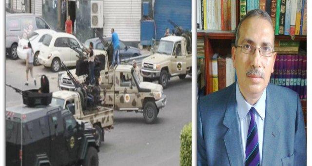 الأوضاع الليبية وتأثيرها على مصر