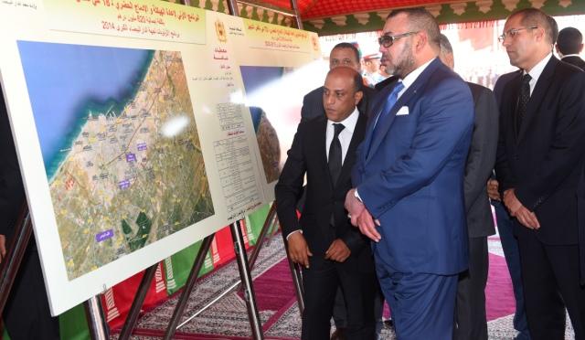 العاهل المغربي يعطي  انطلاقة إعادة هيكلة