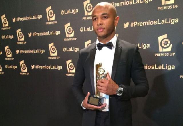 الجزائري براهيمي أفضل لاعب افريقي في الليغا