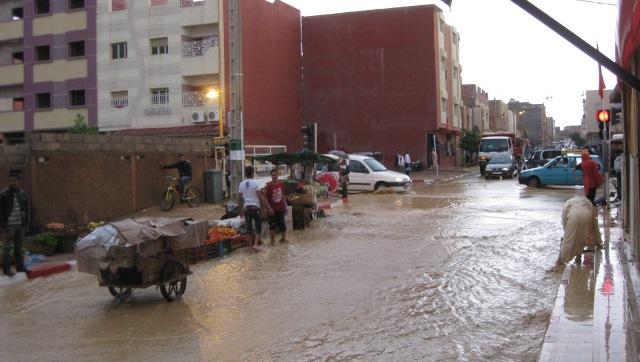 توقعات الطقس غدا ..نزول  أمطار وزخات رعدية قوية في بعض المناطق المغربية
