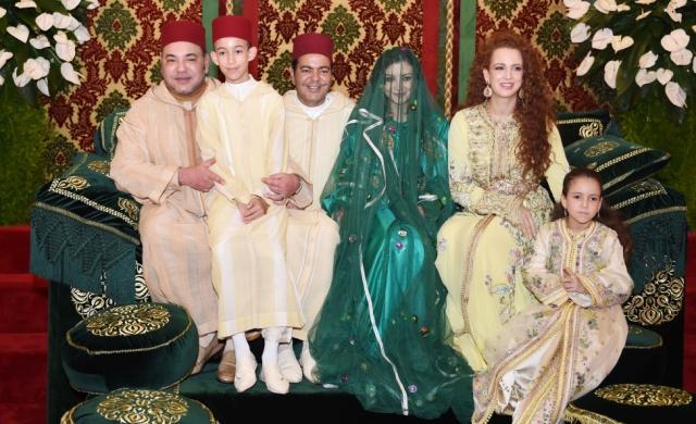 العاهل المغربي يترأس حفل الحناء التقليدي احتفاء  بزفاف الأمير مولاي رشيد وللا أم كلثوم