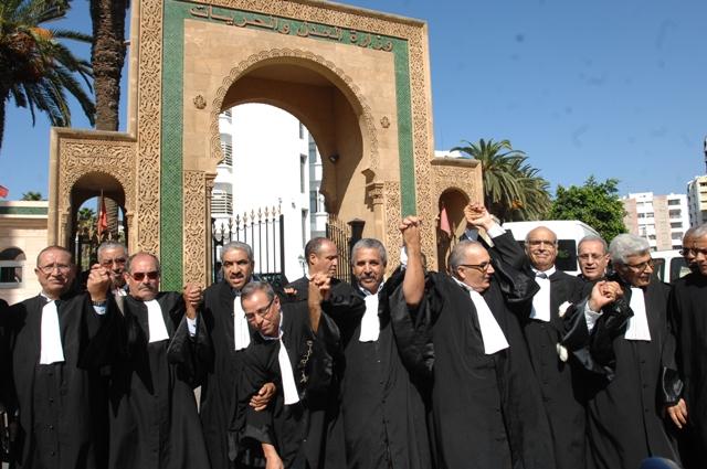 جمعية المحامين المغاربة: نحن دعاة حوار وتشارك..وأذان المسؤولين صماء