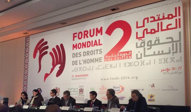 انعقاد المنتدى العالمي في مراكش اعتراف دولي بمنجزات المغرب في مجال حقوق الإنسان