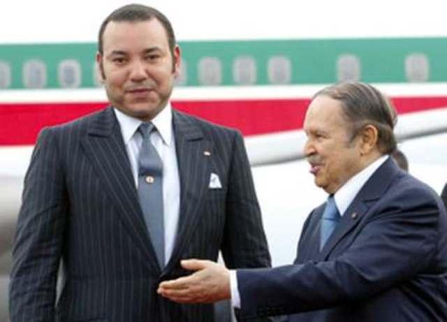 بوتفليقة يهنيء العاهل المغربي :
