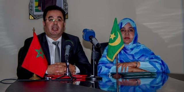 توقيع مذكرة تفاهم بين نواكشوط وطنجة لتوطيد علاقات التعاون بين المدينتين