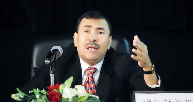 خالد عمر بن ققه