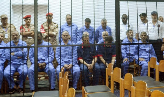 ليبيا..تأجيل محاكمة عدد من رموز النظام السابق