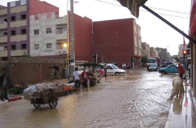 تعبئة في المغرب لمتابعة الوضع بالمناطق المتضررة من التساقطات المطرية