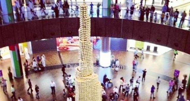أطول مجسم لبرج خليفة من الشكولاتة يدخل «غينيس»
