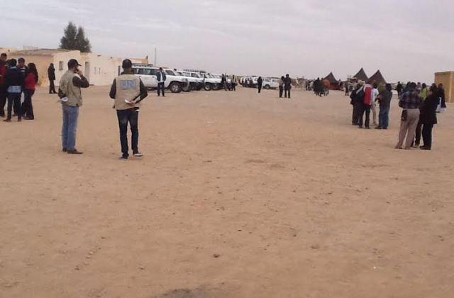 مطالبة الأمم المتحدة بالتدخل لحماية المحتجزين في مخيمات تيندوف