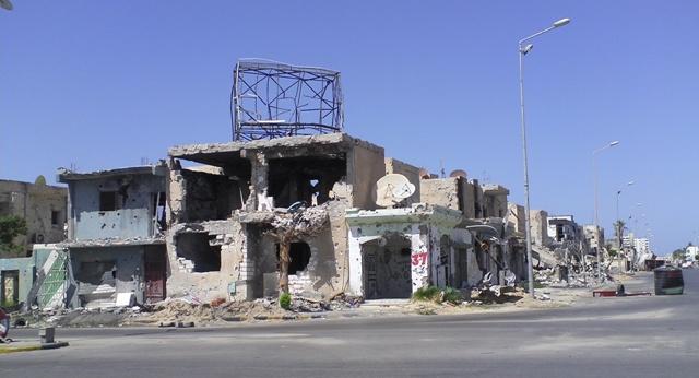 طيران الجيش الليبي يستهدف مواقع للمتطرفين في مصراتة