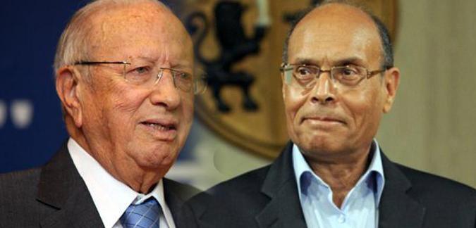 رسميا: السبسى والمرزوقى يدخلان جولة الإعادة فى الانتخابات الرئاسية