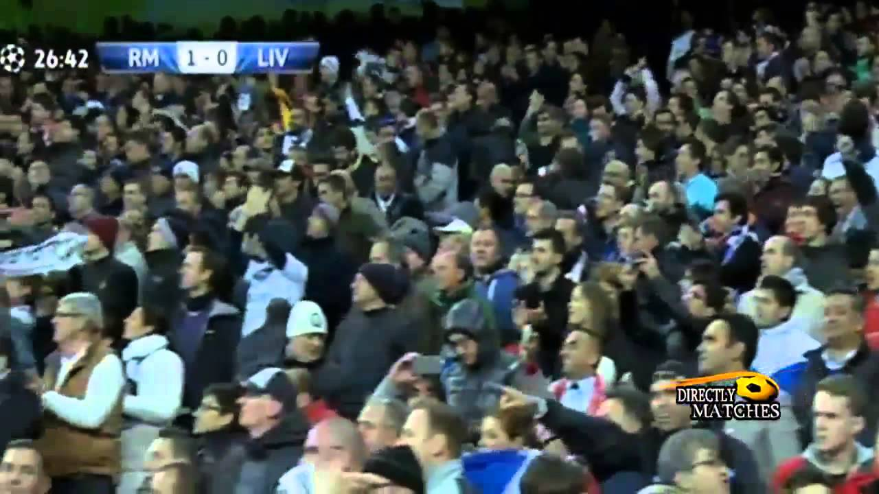 الريال- ليفربول :1-0