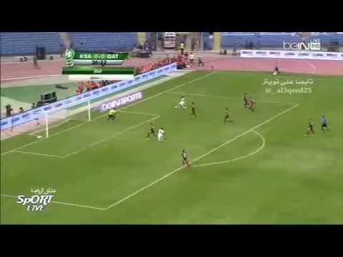 السعودية وقطر 1-1