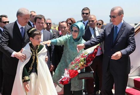 الرئيس التركي أردوغان في زيارة رسمية إلى الجزائر اليوم الأربعاء