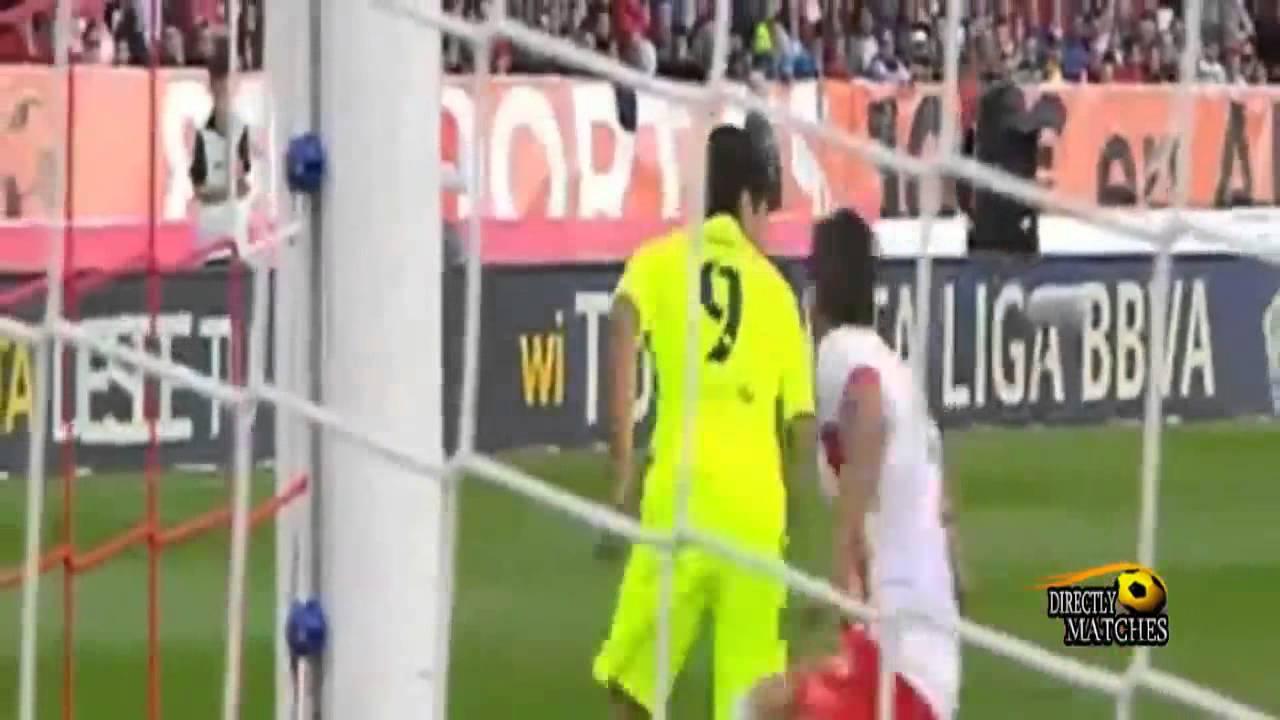 برشلونة والميريا 2-1