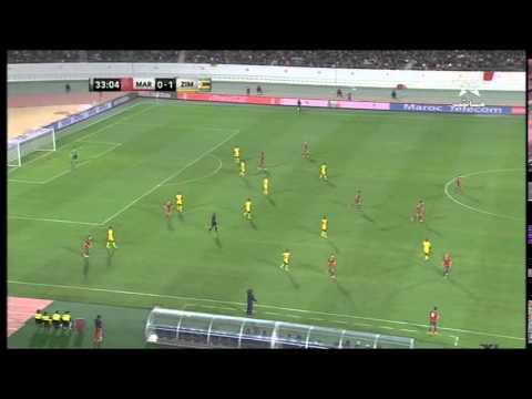 المغرب - زيمبايوي : 2-1