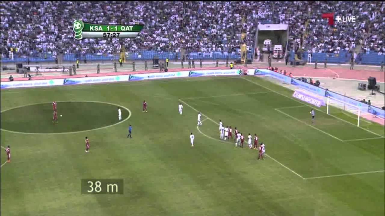 قطر 2 - 1 السعودية
