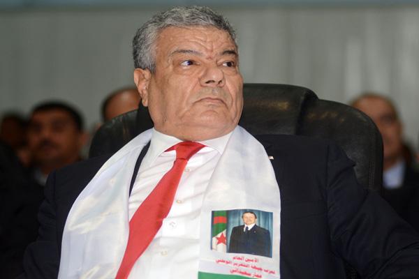 سعداني:الرئيس بوتفليقة وشرعيته خط أحمر 
